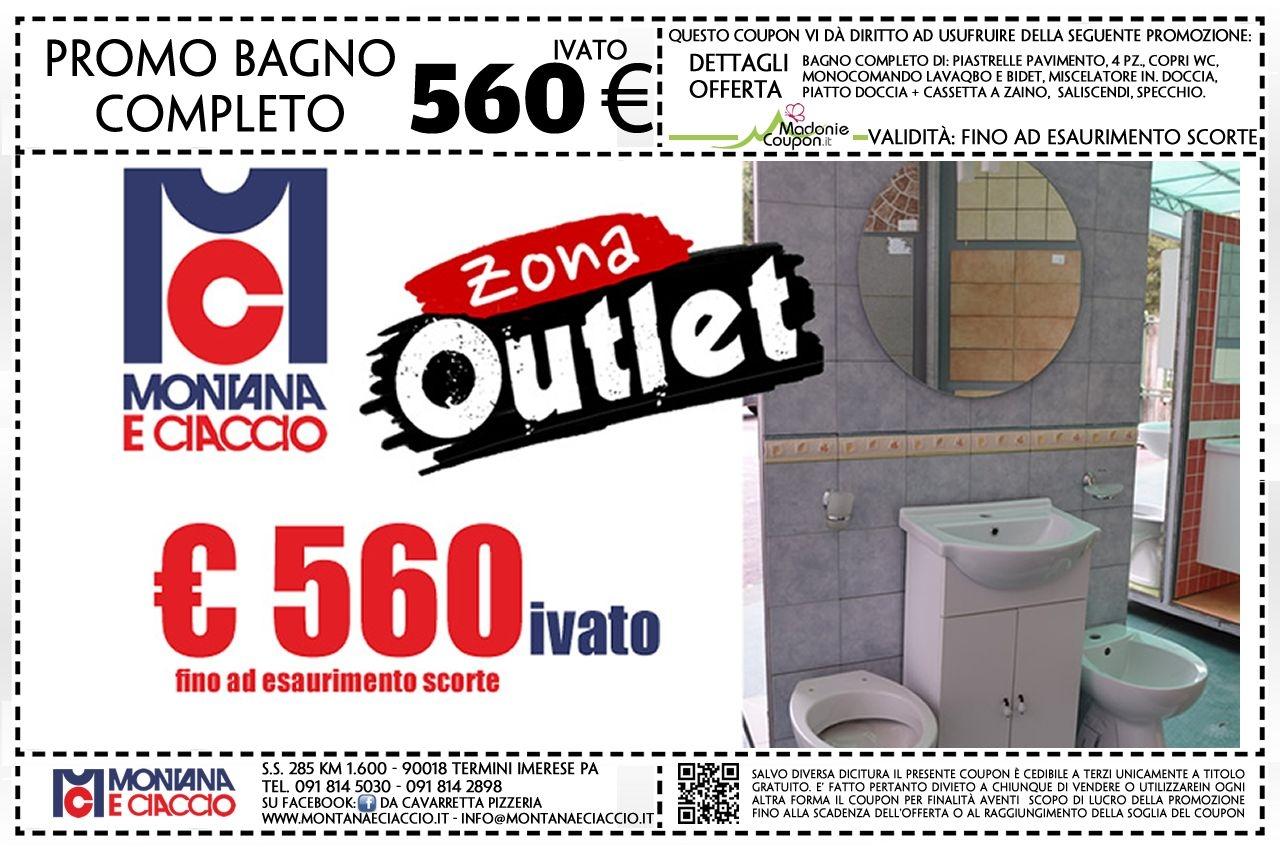 Montana & Ciaccio: Offerta Bagno Completo di Box Doccia e Piastrelle ...
