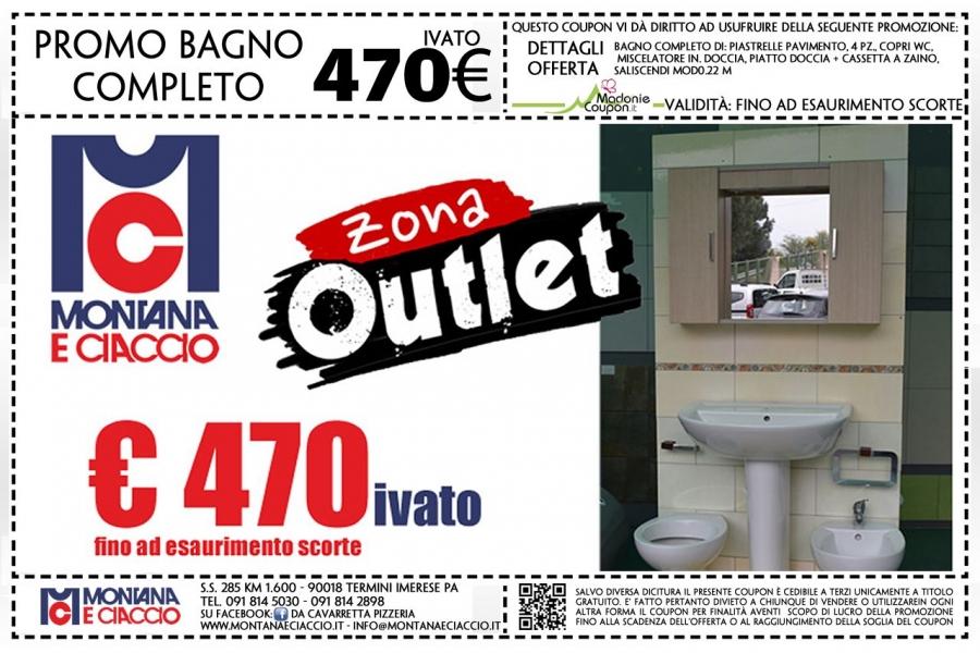 Montana & Ciaccio: Offerta Arredo Bagno Compreso Di Box Doccia E ...