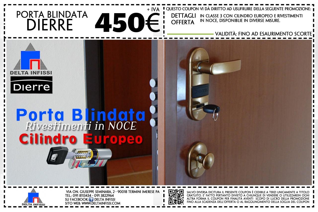 Delta Infissi: Offerta Porta Blindata DIERRE 450 Euro - Il tuo ...